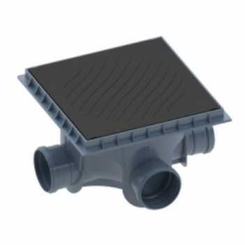 Caixa de Inspeção Polipropileno 100x100mm Porta+Tampa - Ref.27801056 - TIGRE