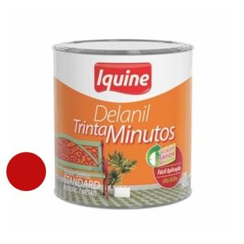 Tinta Esmalte Brilhante Delanil Vermelho 112,5ml - Ref.195204532 - IQUINE