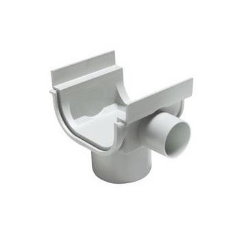 Bocal Circular para Calha de Piso PVC 130x75x40mm - Ref. 32030831 - TIGRE