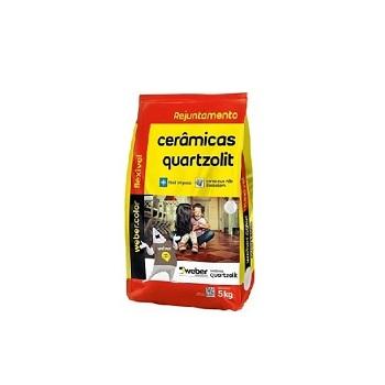 Rejunte Flexível Saco Com 5kg Cinza Platina - Ref.0107.00020.0030FDKG - QUARTZOLIT