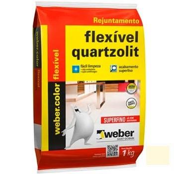 Rejunte Flexível Saco15kg Marfim - Ref.0107.00023.0015FD - QUARTZOLIT