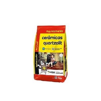 Rejunte Flexível Saco Com 5kg Cinza Outono - Ref.0107.00019.0030FD - QUARTZOLIT