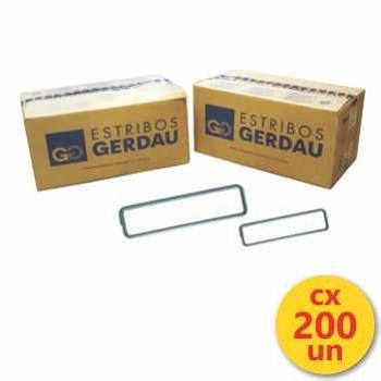 Estribo Aço 07x22 4,2MM Caixa Com 200UN - Ref. 114001023 - GERDAU