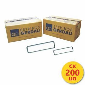 Estribo Aço 17x17 4,2MM Caixa Com 200UN - Ref. 114001019 - GERDAU