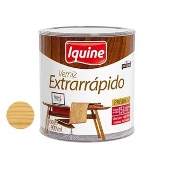 Verniz Brilhante Extrarrápido Incolor 900ml - Ref.19100104 - IQUINE