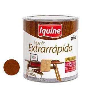 Verniz Brilhante Extrarrápido Imbuia 900ml - Ref.19105504 - IQUINE