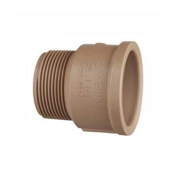 Adaptador Soldável PVC 32x1 Curto - Ref.0332 - KRONA