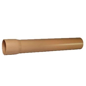 Tubo Soldável PVC 60mm 6m - Ref. 011060 - TUBOTEC