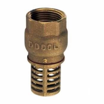 Válvula de Sucção Latão 3/4 Poço - Ref.30010600 - DOCOL