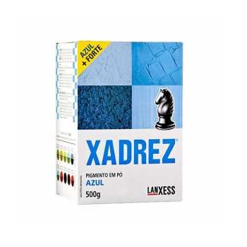 Corante Pó 250g Xadrez Azul - Ref. 67393 - LANXESS