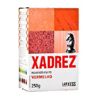 Corante Pó 250g Xadrez Vermelho - Ref. 68039 - LANXESS