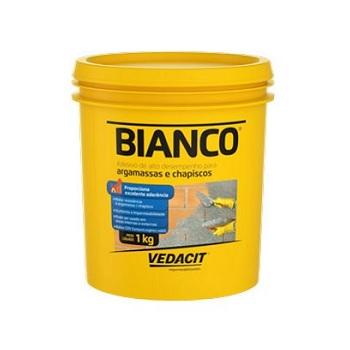 Adesivo Argamassa/Chapisco 1kg Bianco - Ref.121508 - VEDACIT