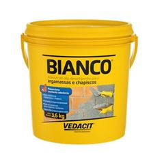 Adesivo Argamassa e Chapisco 3,6kg Bianco - Ref.121801 - VEDACIT