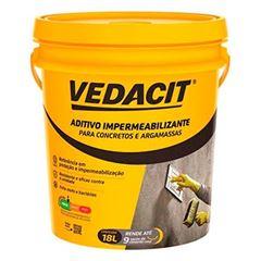 Impermeabilizante 18 Litros  para Concreto e Argamassa 18,9KG -  Ref.112484 - VEDACIT