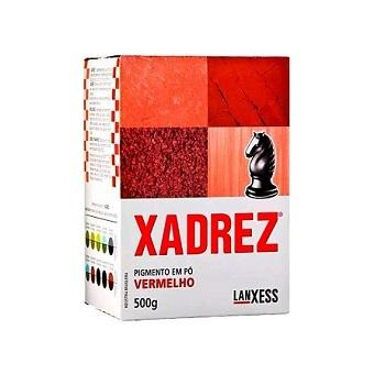 Corante Pó 500g Xadrez Vermelho - Ref. 67881 - LANXESS