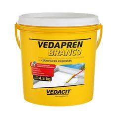 Impermeabilizante Acrílico 4,5kg Vedapren Branco -  Ref.121857 - VEDACIT