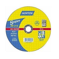 Disco de Corte 7 Polegadas 2 Telas Super AR312 - Ref.66252899863 - NORTON