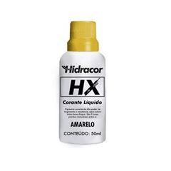 Corante Base Água 50ml HX Amarelo - Ref. 613306530 - HIDRACOR