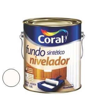Fundo Para Madeira Nivelador 3,6 Litros - Ref. 5203062 - CORAL