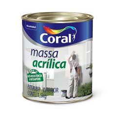 Massa Acrílica 900ml - Ref. 5202598 - CORAL