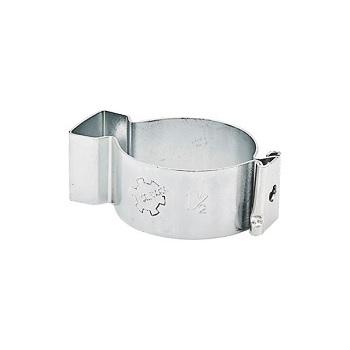 Abraçadeira de Aço Tipo D Cunha 1/2 Polegada Zincada - Ref.90187 - SILVANA