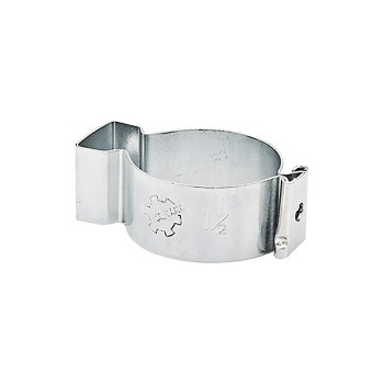 Abraçadeira de Aço Tipo D Cunha 3/4 Polegada Zincada - Ref.90194 - SILVANA