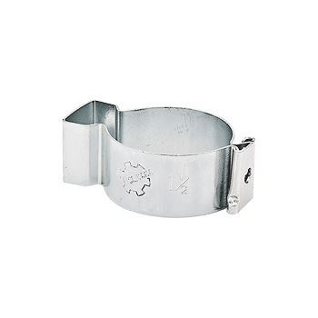 Abraçadeira de Aço Tipo D Cunha 1.1/2 Polegada Zincada - Ref.90224 - SILVANA