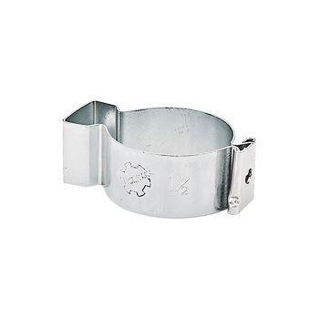 Abraçadeira de Aço Tipo D Cunha 2 Polegadas Zincada - Ref.90231 - SILVANA