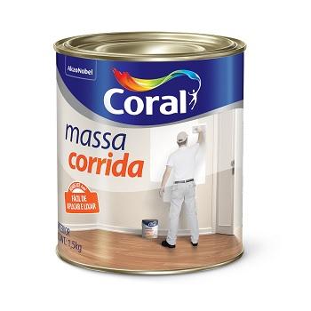 Massa Corrida Branco 1,5kg - Ref. 5202612 - CORAL