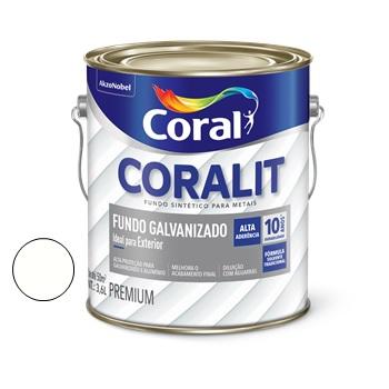 Fundo Galvanizado Branco 3,6 Litros - Ref. 5202670 - CORAL