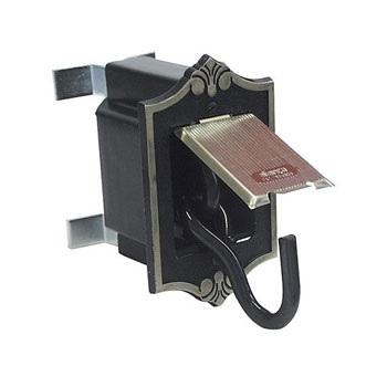 Armador De Rede Aço 1 Par Embutir Zincado Latonado Oxidado - Ref. 011642 - ALIANÇA