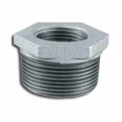 Bucha Redução Galvanizada 1.1/2x1.1/4 Roscável - Ref.120104233 - TUPY