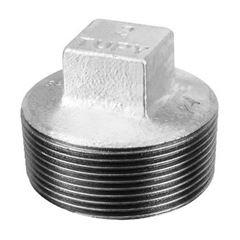Plug Roscável Galvanizado 3/4 - Ref.120200633 - TUPY