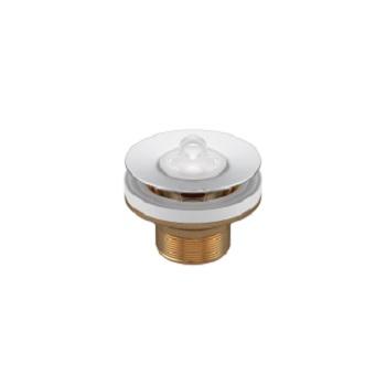 Válvula para Lavatório Universal 7/8 Polegada Metal Tampa de Plástico Cromado - Ref.1602.C.PLA - DECA