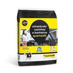 Argamassa Interna 20kg Cozinha e Banheiro Plástico Cinza - Re.0118.00001.0020PL - QUARTZOLIT