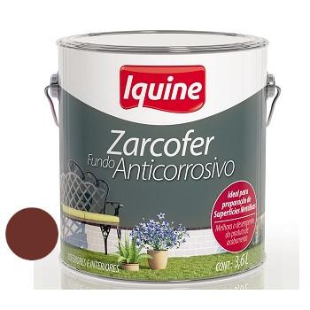 Fundo Sintético Dupla Ação Anticorrosivo Zarcofer Oxido 3,6 Litros - Ref. 21205401 - IQUINE