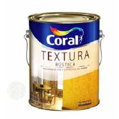 Texturizado Acrílico Rústico Branco 3,6 Litros - Ref. 5202571 - CORAL