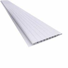 Forro PVC 200mm 6m/1,0m² Pratic Liso Branco - Ref. 010103020107 - ARAFORROS