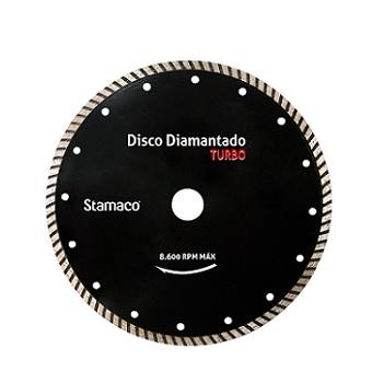 Disco Diamantado 180mm Turbo Seco Tornado - Ref. 4721- STAMACO
