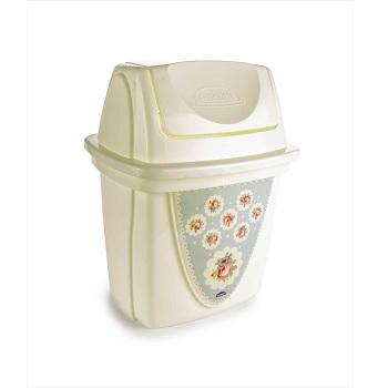 Lixeira Basculante 6 Litros de Plástico Decorativa para Pia com Tampa - Ref.003731 - PLASUTIL