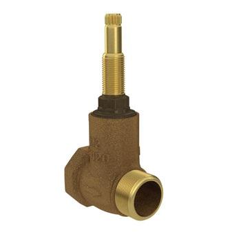 Registro Pressão Bronze 3/4 Base - Ref. 4416202 - DECA