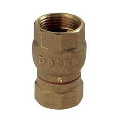 Válvula Retenção Latão 3/4 Vertical - Ref.30100600 - DOCOL