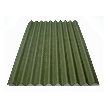 Telha de Fibra Vegetal 0,95x2m Verde - Ref.P 5106 BR - ONDULINE