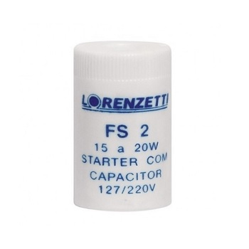 Starter Plástico 20W - Ref. 1482 - LORENZETTI