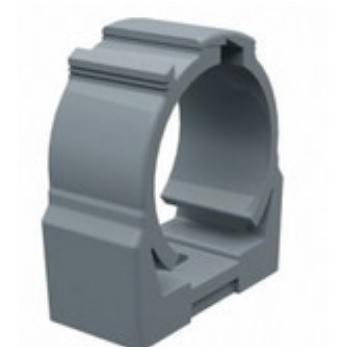 Abraçadeira PVC Pressão 1/2 Polegada - Ref.913679 - CEMAR