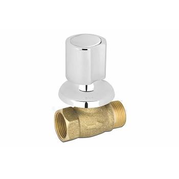 Registro de Pressão Metálico 3/4 Sleek 1416 C44 Cromado - Ref. 1416 3/4 C-44 - KELLY METAIS