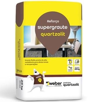 Argamassa Externa Saco Com 25kg Supergraute - Ref.0043.00001.0025PA - QUARTZOLIT