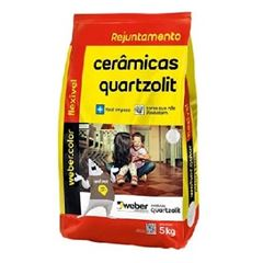 Rejunte Flexível Saco com 5kg Branco - Ref.0107.00000.0030FD - QUARTZOLIT