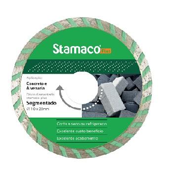Disco Diamantado 105mm Turbo Seco Úmido Rayo - Ref.4516 - STAMACO