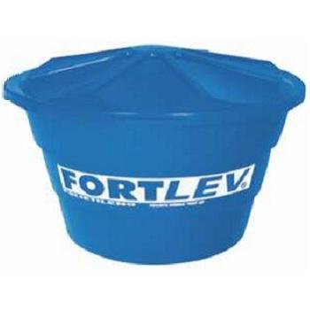 Caixa D água Polietileno 1000 Litros Cônica Com Tampa Baixa - Ref.02010007 - FORTLEV